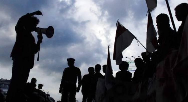 Aksi Damai di Ambon Sampaikan Panca Tuntutan Rakyat