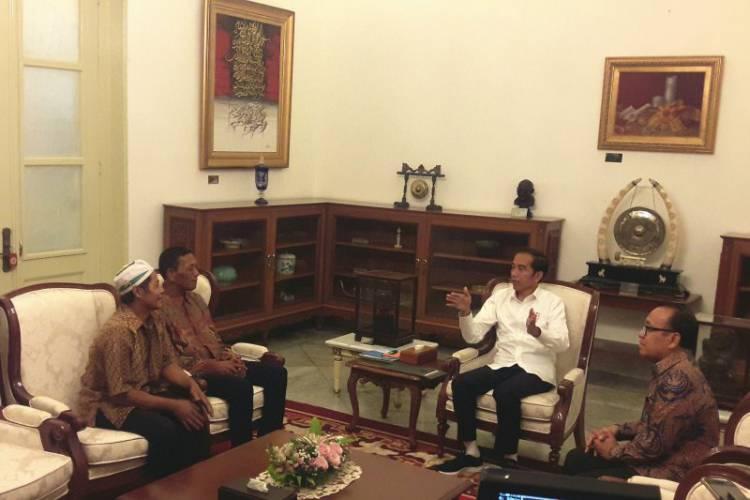 Jokowi Dialog dengan Korban Penjarahan 22 Mei