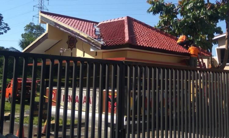 Pos Penjagaan Mako Brimob Purwokerto Ditembaki Orang Tidak Dikenal