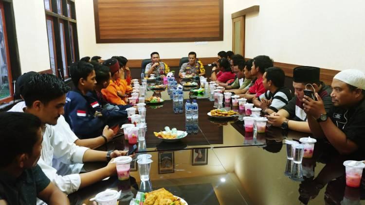 Kapolres Muarojambi Ajak Wartawan dan Mahasiswa Tangkal Hoaks