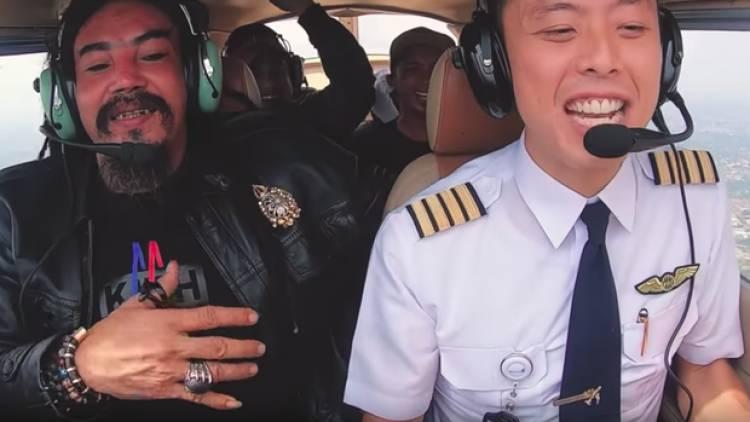 Akibat Video Zero Gravity, Izin Terbang Single Engine Capt Vincent Dicabut