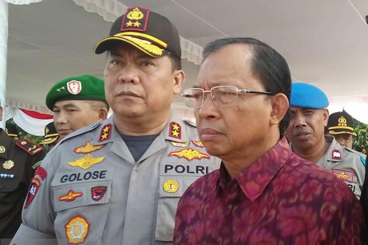 Polda Bali Tangkap Pelaku Ujaran Kebencian Terkait Makar