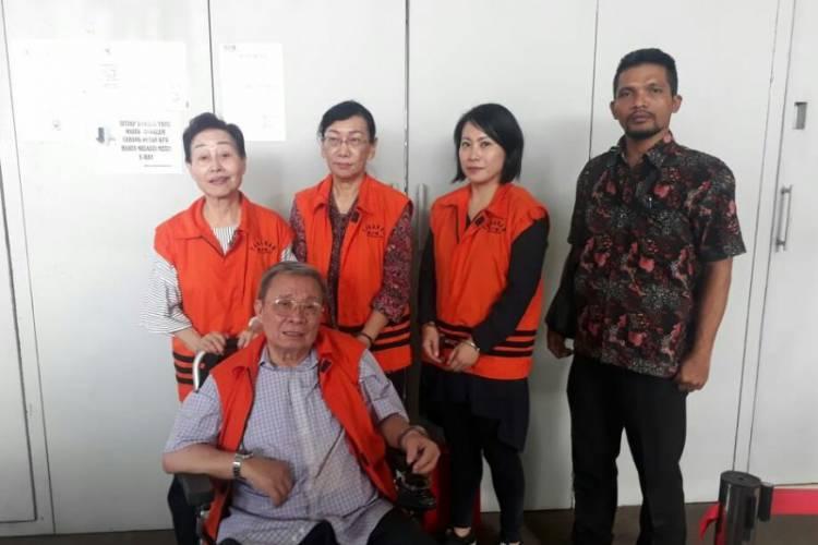 Empat Terpidana Kasus Suap SPAM Dieksekusi ke Lapas Tangerang