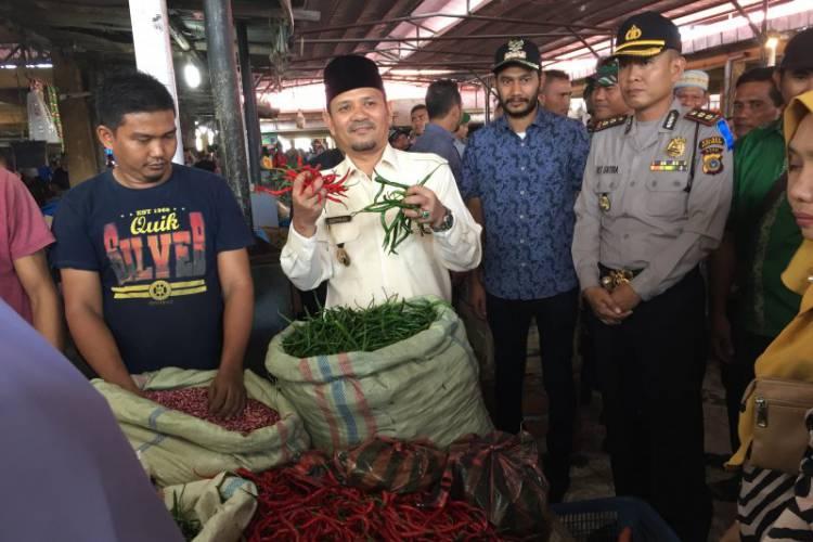 Harga Cabai Merah Bertahan Rp100 Ribu/Kg di Banda Aceh