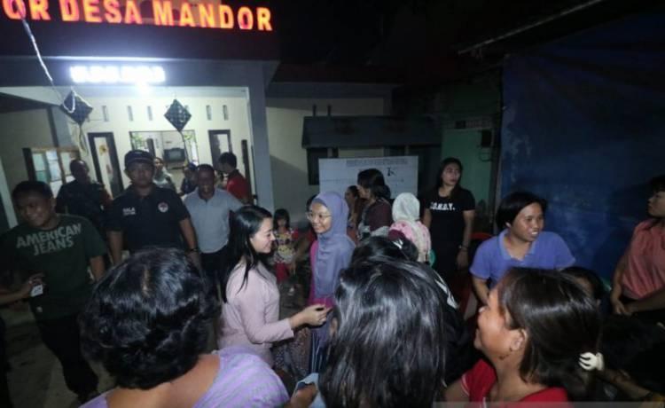 Usai Lebaran, 268 KK Mengungsi Akibat Banjir di Mandor