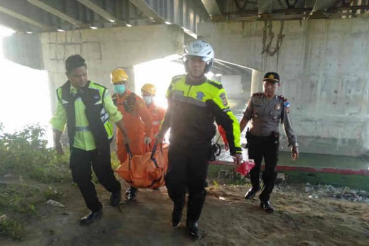 Pemudik Asal Jambi Tewas Terjatuh dari Jembatan Cimanuk Tol Cipali