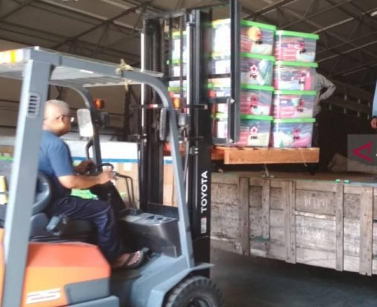 PMI Kirim Logistik Bantuan untuk Korban Banjir Parah di Konawe