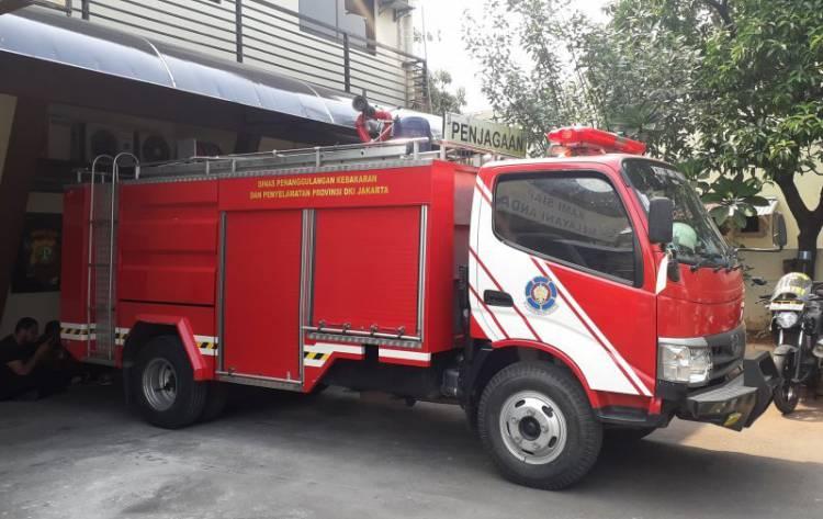 Ditinggal Sopir Ke Toilet, Mobil Damkar Sunter Raib Digondol Maling