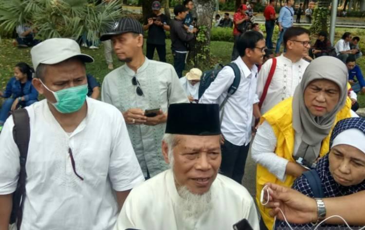 Mantan Penasihat KPK Pimpin Demo Kawal Sengketa Pilpres di MK