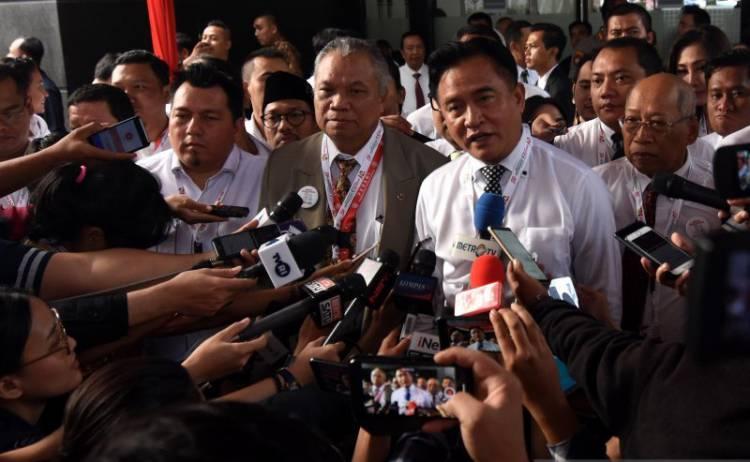 Yusril Tolak Dalil Tambahan Prabowo-Sandi