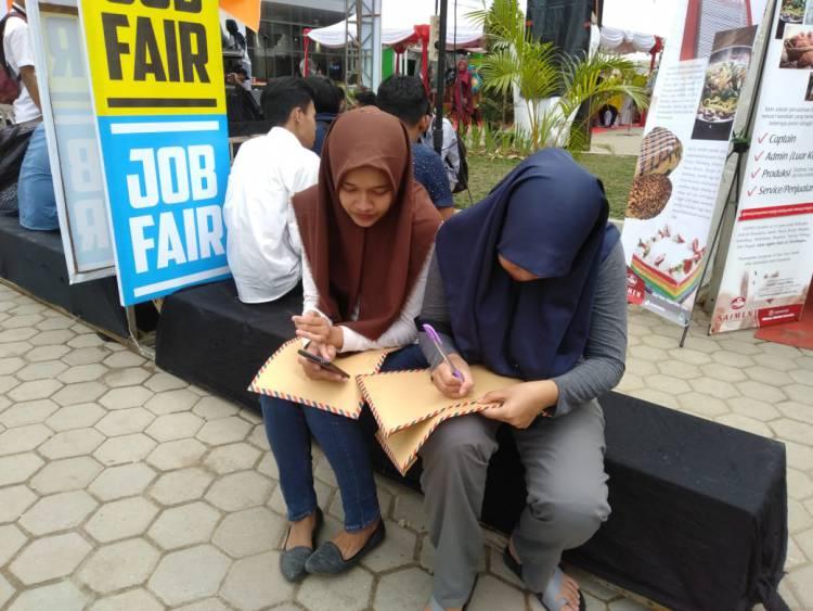 Job Fair Jambi Siapkan 2.381 Lowongan, Begini Kata Pelamar