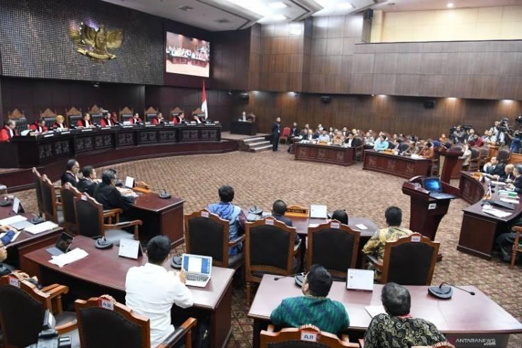 SIDANG MK, Yusril Sebut Dalil Tim Prabowo-Sandi Hanya Asumsi