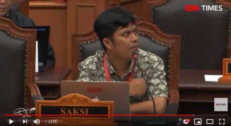 Sidang MK, Saksi Fakta Ungkapkan Pelatihan Saksi TKN Ajarkan Kecurangan