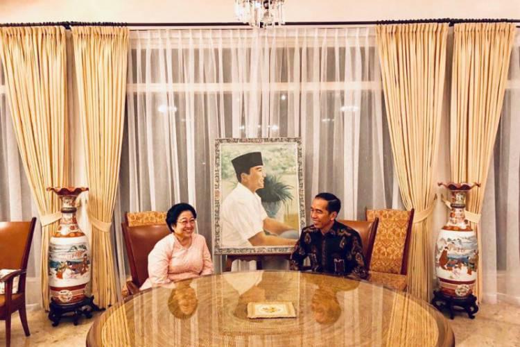 Megawati Ucapkan Selamat Ulang Tahun Kepada Jokowi