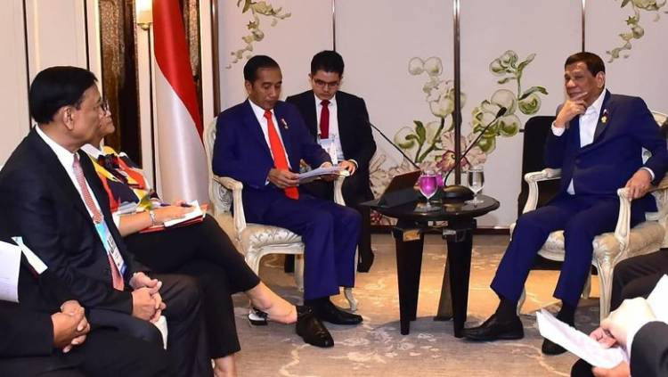 Ratifikasi Batas Maritim ZEE Kelar, Jokowi dan Duterte Bahas Kerja Sama Perdagangan Investasi