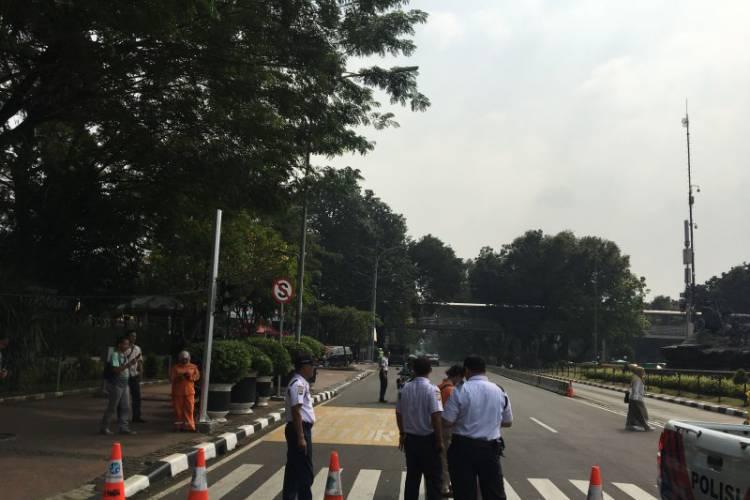 Jalan Medan Merdeka Barat Ditutup Lagi Senin Ini