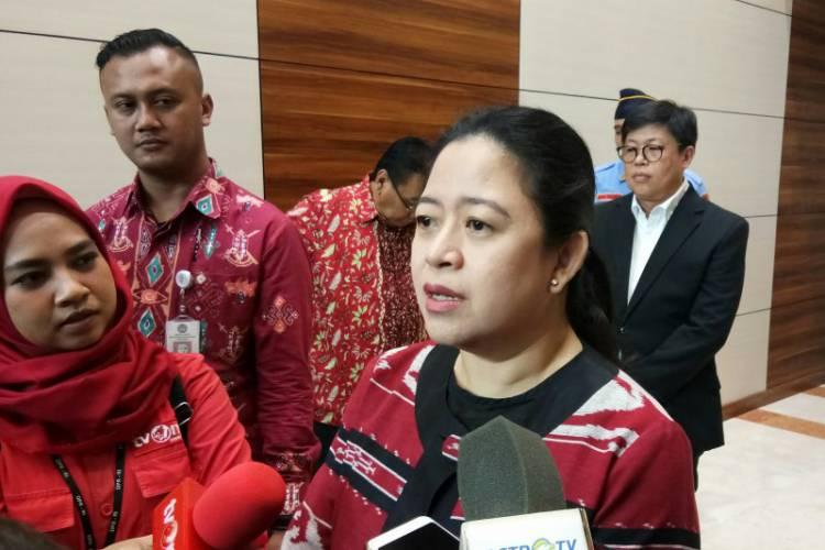 Diisyaratkan Jadi Ketua DPR, Puan Maharani: Posisi Ketua Diputuskan Ketum PDI P