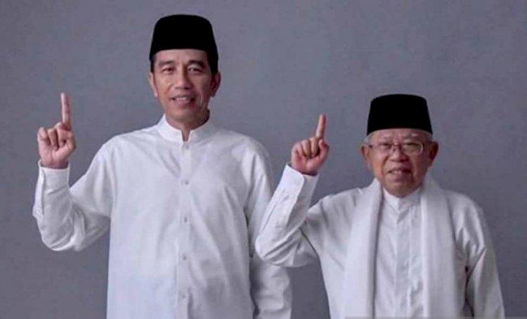 Tanpa Kehadiran Prabowo-Sandi, KPU Tetapkan Jokowi Sebagai Presiden Terpilih