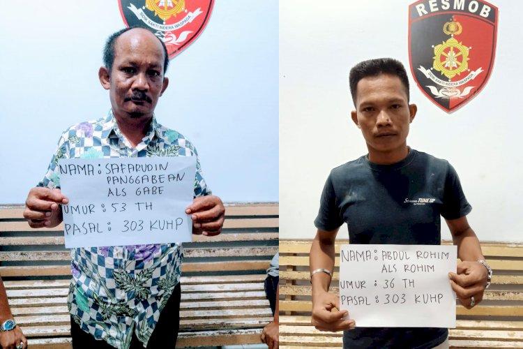 Dua Penjual Togel di Muaro Jambi Diringkus Tim Resmob Polda Jambi