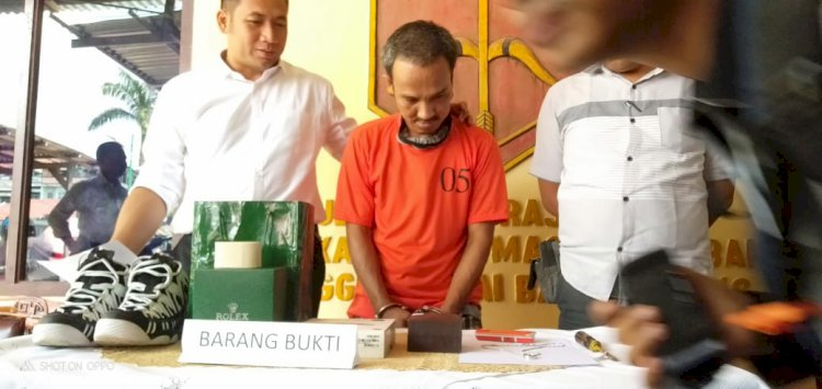 Curi Kalung Berlian, Buruh Bangunan di Jelutung Ini Tak Berkutik Ditangkap Polisi