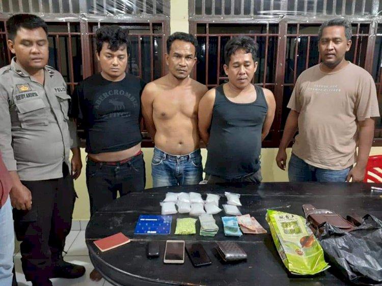Polsek Singkut Cegat Pembawa 800 Gram Sabu dan Ratusan Ekstasi