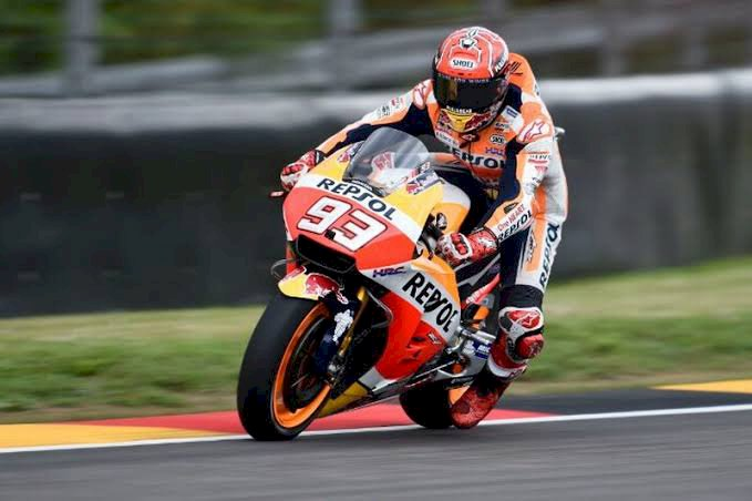 Marquez Ungguli Quartararo untuk Raih Pole Position GP Jerman