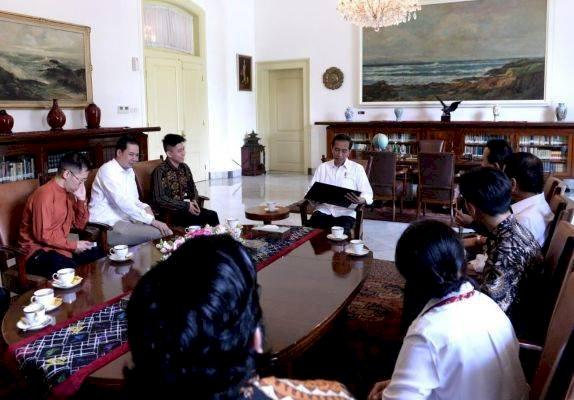 Presiden Jokowi dan Rapper Rich Brian Bahas Musik Hingga Lihat Domba di Istana Bogor