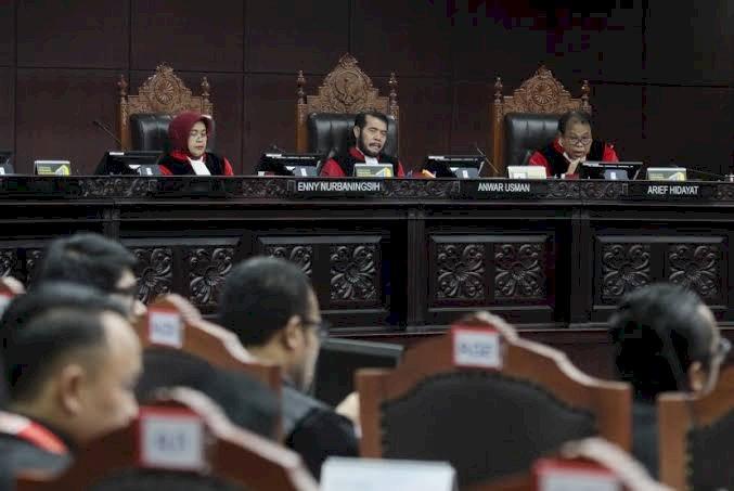 MK Gelar Sidang PHPU Legislatif Jambi dan 10 Provinsi