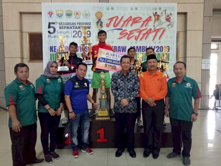 BBS Tutup Kejurprov Sepak Takraw, Spektakuler Welcome Party dan Dipantau Kemenpora RI
