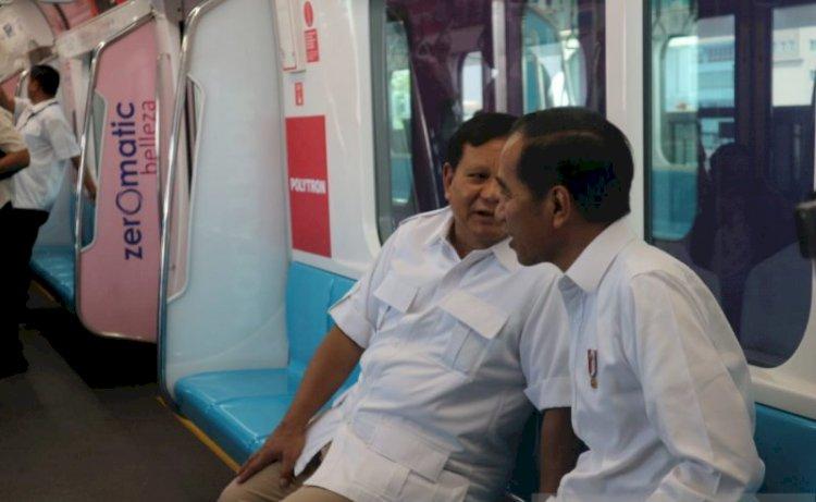 Prabowo: Saya katakan Ada 'Ewuh Pekewuh' Ada 'Toto Kromo' Ucapan Selamat Langsung Tatap Muka