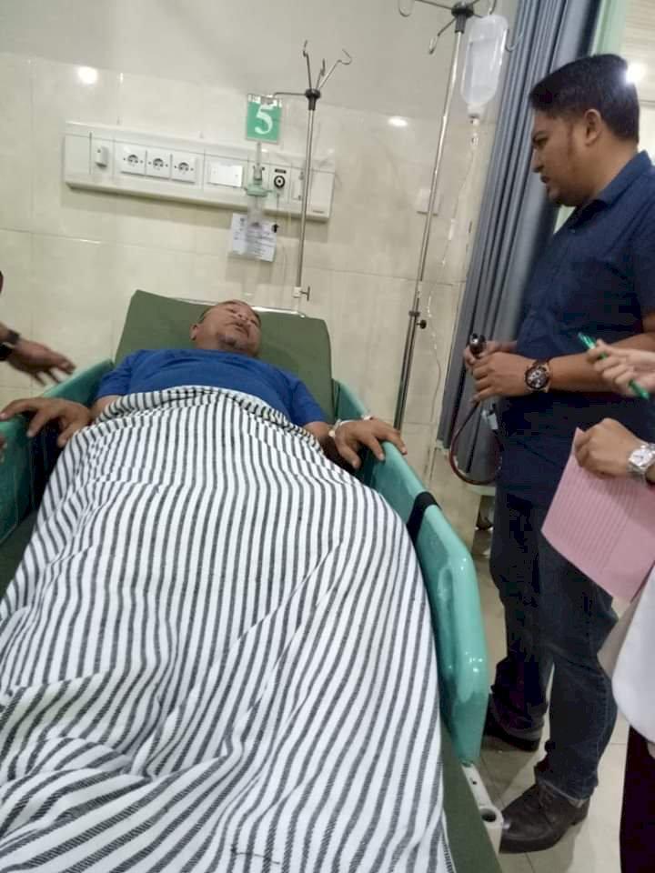 Ketua DPD PAN Bungo Mendadak Dirawat RSU RM Mattaher Jambi, Ada Apa?