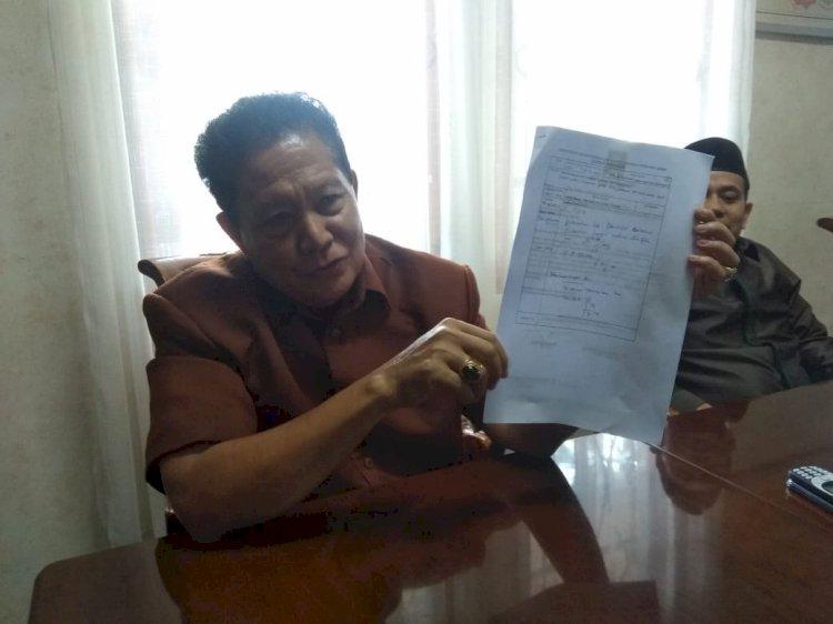 Satpam DPRD Mengira Surat Pengunduran Waktu Cawagub Adalah Surat Sumbangan