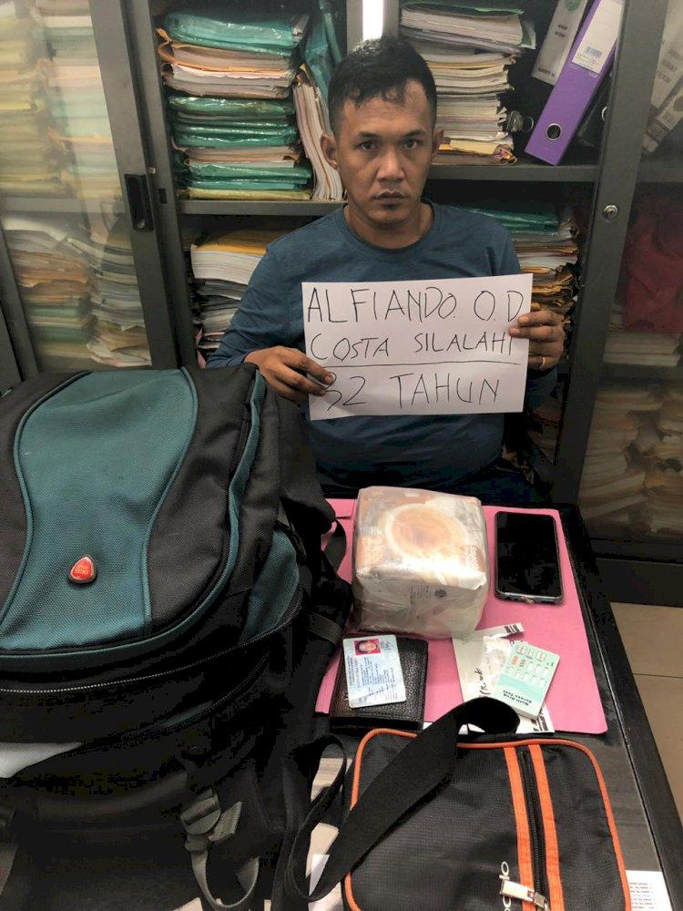 Polda Jambi Ringkus Sindikat Narkoba Malaysia Bawa Sabu Satu Kilo