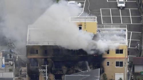 Kebakaran Studio Animasi di Jepang Tewaskan Sejumlah Orang