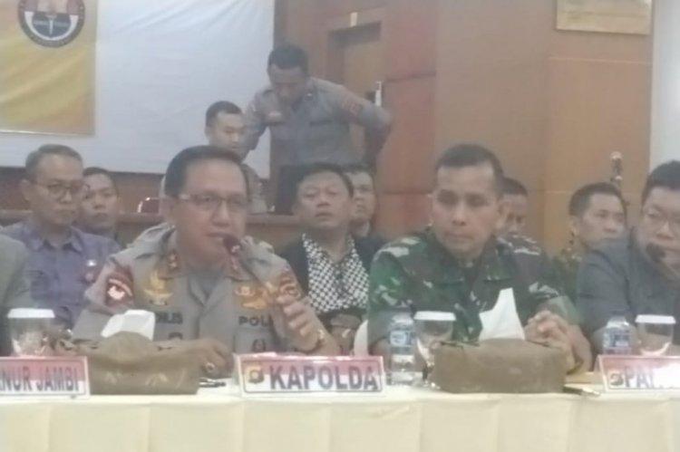 Pangdam II Sesalkan Tindakan Anarkis SMB Terhadap Tiga Anggota TNI Satgas Karhutla