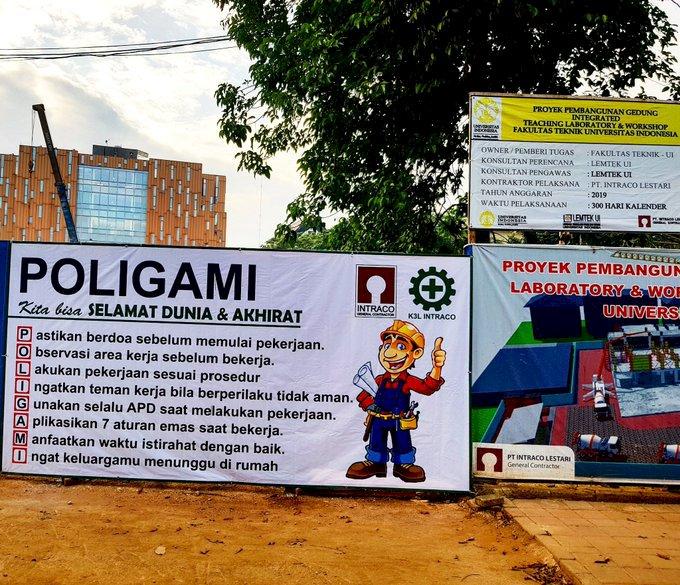 Poster K3 Singkatan Poligami di UI Jadi Rusuh, Begini Akhirnya...