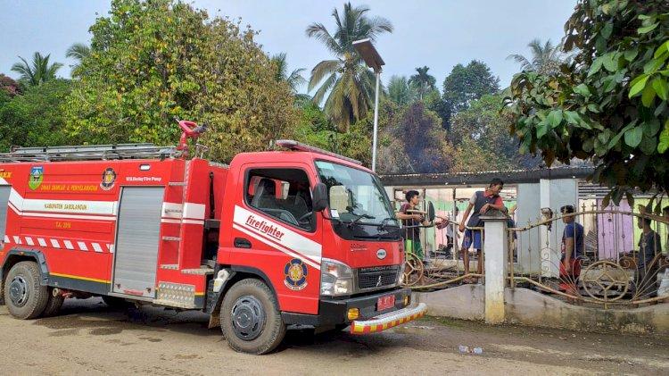 Pasca Rumah Kades Hangus Terbakar, Warga Air Hitam Minta Unit Damkar di Daerah Ini