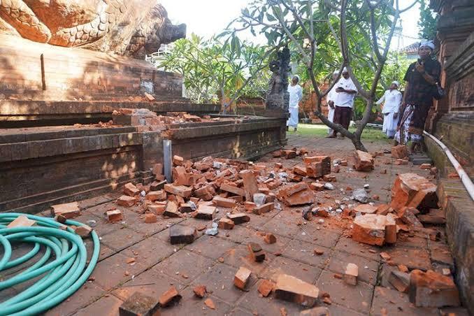 Gempa 4,9 Magnitudo Guncang Bali