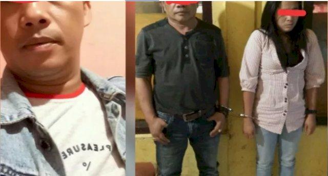 Pesta Sabu Oknum Polisi dan Bandar Narkoba Serta Satu Wanita Diciduk Polisi