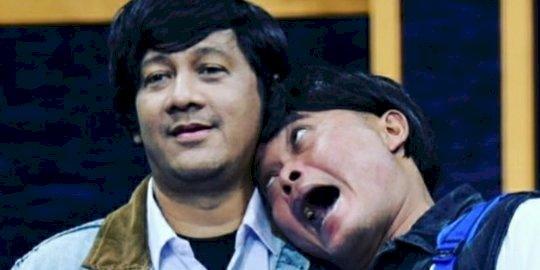 Sule dan Andre Sowan Nunung di Polda Metro