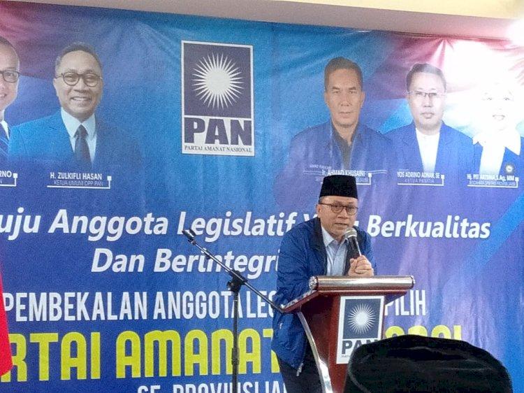 Zulhas: DPR Itu Bukan Mencari Kerja tapi Mitra Pemerintah!