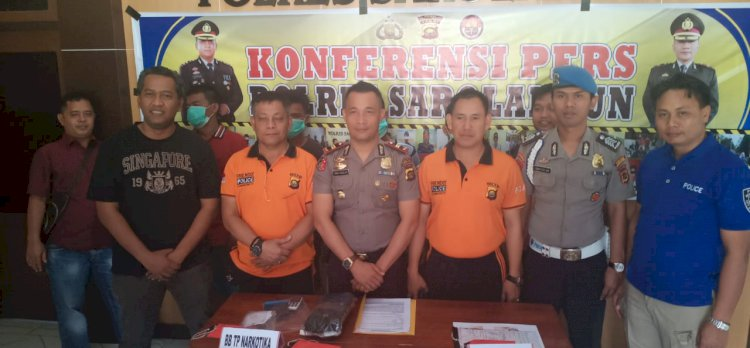 Empat Pelaku Curas Resahkan Warga Singkut Sarolangun Diringkus Polisi