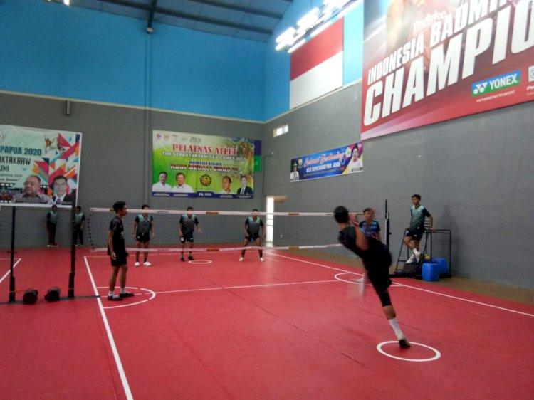 Jelang Pra-PON, Kontra All Star Sukabumi Tim Sepak Takraw Jambi Memuaskan