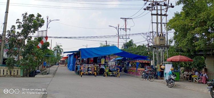 Pedagang Lokal Mengeluh, Pasar Obral Tanjabbar Didominasi Pedagang Luar