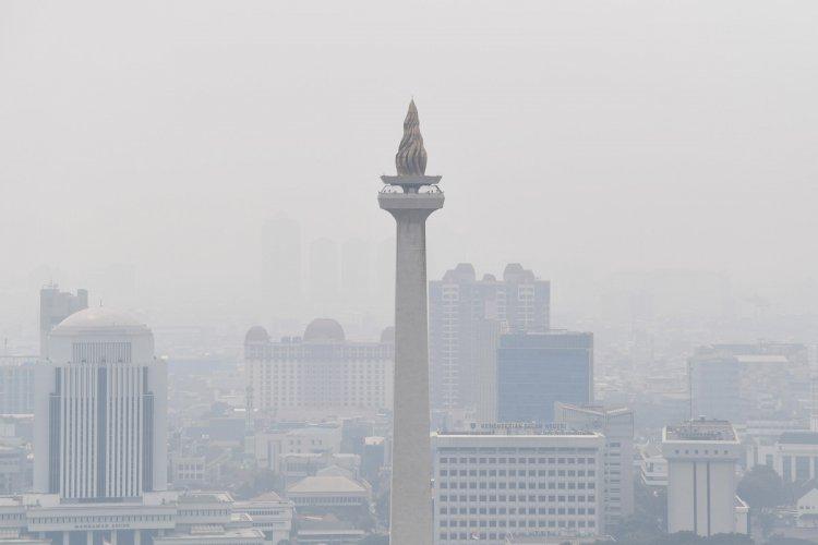 Sabtu Pagi, Pegadungan jadi Wilayah dengan Kualitas Udara Terburuk