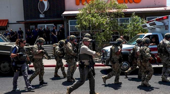 Trump Geram! Sebut Penembakan Tewaskan 20 Orang di El Paso Tindakan Pengecut