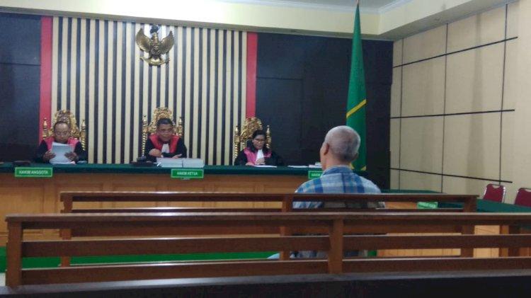 Kasus Embung Tebo, Hakim: Gara-gara Anda Tandatangani kan, Cair Semua Dananya 100 Persen