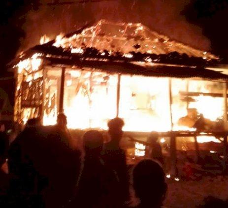 Rumah Warga Sekernan Ludes Terbakar, Hasbi Allah: Saat Kebakaran Empat Penghuni di Dalam
