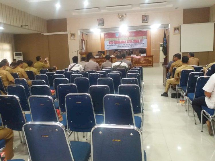 Rapat PETI di Merangin Tujuh Camat Bolos, Sekda: Kenapa Tidak Hadir?