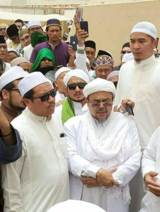 Soal Habib Rizieq Serobot Doa, Dubes Agus: Sangat Tidak Etis dan Su'ul Adab Apalagi Talqinnya Model Reguler